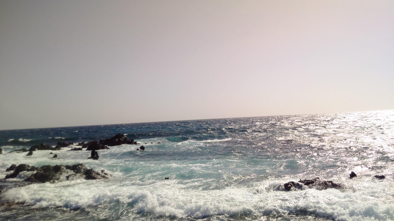 Der saubere Atlantik vor Lanzarote
