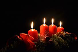 Adventskranz - CC0 Lizenz - Pixabay
