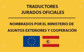 Traductores jurados oficiales
