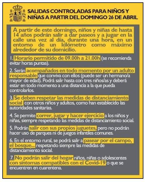Lockerungsmaßnahme Kinder 26.04. Corona-Virus Original